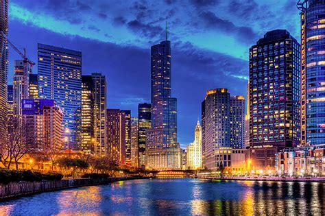 imagenes de noche retro fondos de pantalla ee uu casa rascacielos chicago ciudad