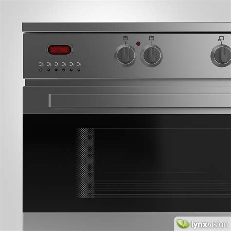 kitchen appliance electric stove 3d model cgtrader com euromaid electric stove and grill 3d model max obj fbx