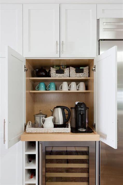 built  kitchen coffee bar ideas coffee bar home
