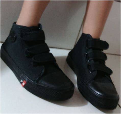 Sepatu All Warna Hitam Polos jual sepatu sekolah anak laki laki sd warna hitam sepatu
