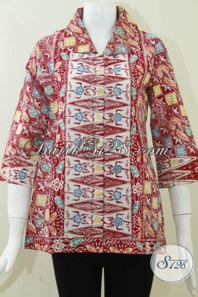 Gamis Wanita Karir blus batik kerja wanita karir dan model batik terlaris masa kini bls806c m toko batik