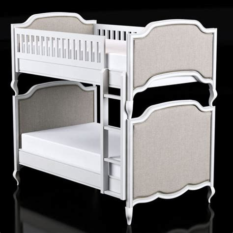 restoration hardware twin bed restoration hardware marceline twin over twin bunk bed 3d