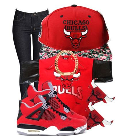 chicago bulls polyvore the flowers