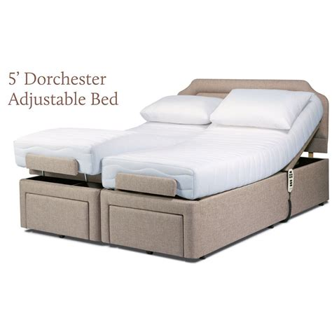adjustable king size bed sherborne dorchester king size electric dual motor