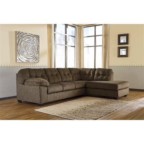 pantomime right chaise sectional signature design accrington contemporary sectional