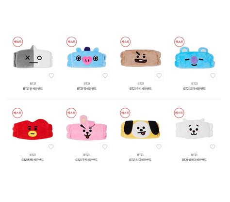 Harga Headband Reebok olive x bt21 headband 1004 k shop