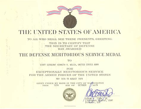 meritorious service medal citation template meritorious service medal template photos entry