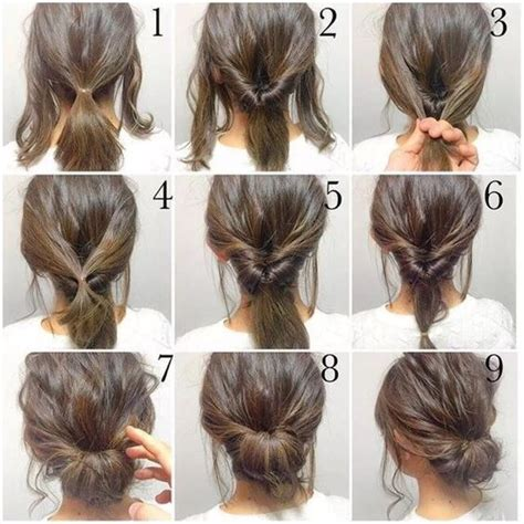 step by step instructions for updos 25 best ideas about hair buns on pinterest bun
