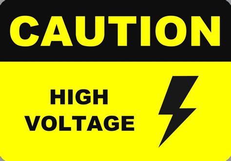 high voltage safety caution high voltage safety 7x10 metal signs ebay