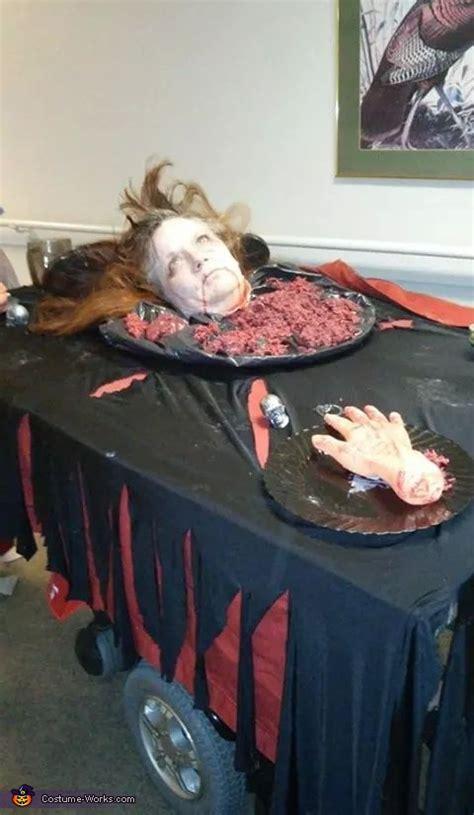 head   platter adult halloween costume