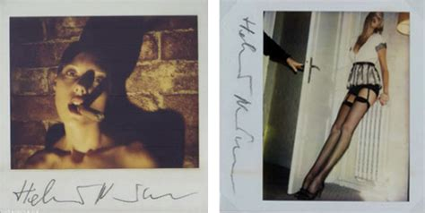 helmut newton polaroids pacific standard image of the day
