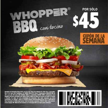 cuarto cheddar melt burger king cupones promociones ofertas y descuentos en