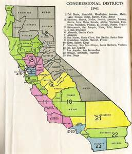 map of california congressional districts deboomfotografie