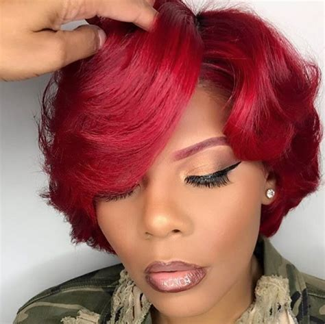 Black Bob Wedding Hairstyles by Slay Barbiiequeen Https Blackhairinformation