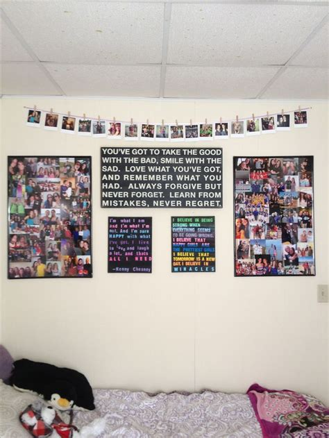 photo hanging ideas dorm picture hanging ideas my pinterest attempts