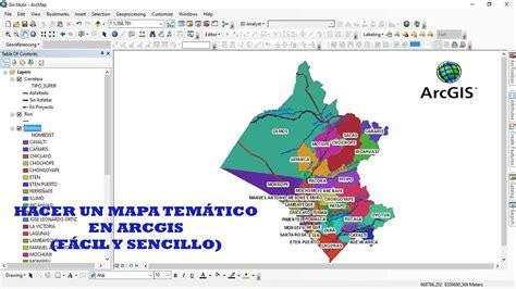 tutorial mapa tematico arcgis tutorial n 176 11 hacer un mapa tem 225 tico arcgis 10 3 1