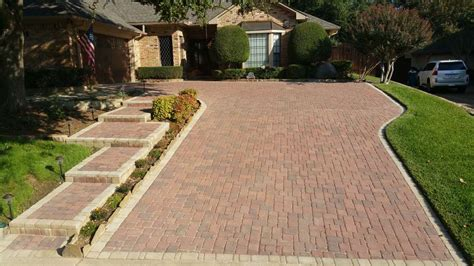 hill driveway design driveways legacy custom pavers