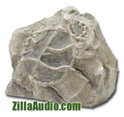 Rock Garden Speakers Zillaaudio Landscape Rock Garden Outdoor Speakers