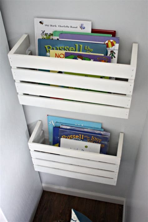 bedroom book storage 30 awesome diy storage ideas diy joy