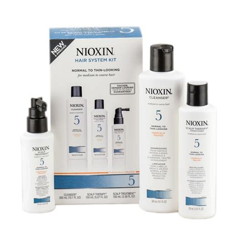 Scalp Detox Mona Dhoo by Nioxin System 5 Starter Kit Starter Kit Nioxin System