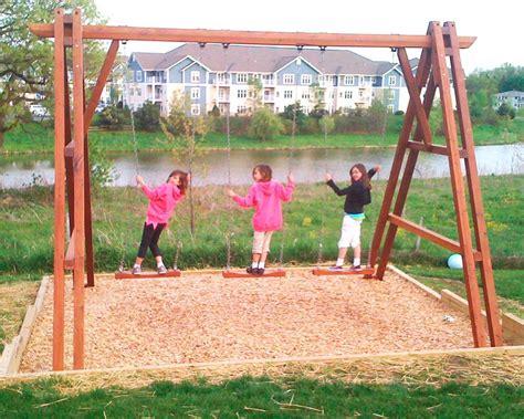 redwood swing set rory s giant playground swing set forever redwood
