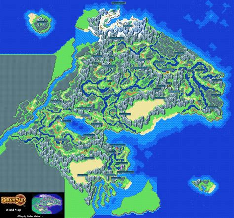 golden sun world map theme golden sun the lost age world map by stefan mahrla with