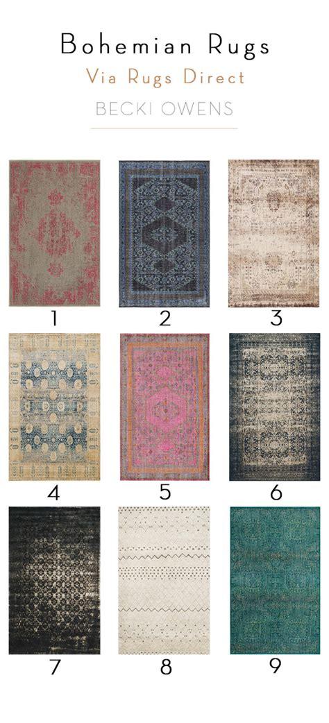 bohemian style area rugs rug trend bohemian style
