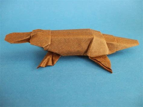 Origami Platypus - origami platypus origami and craft ideas