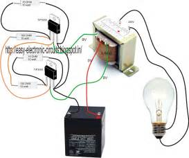 how to make a simple inverter circuit at home electricalcorecircuits