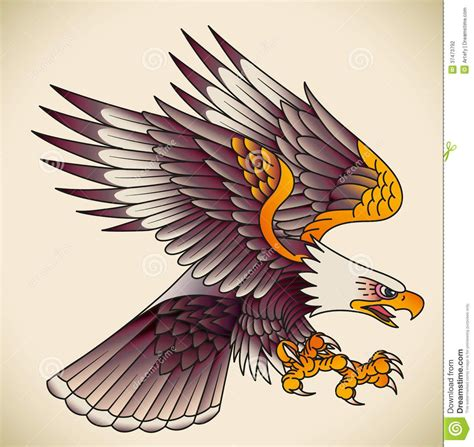 american traditional eagle tattoo traditional american eagle flash www pixshark