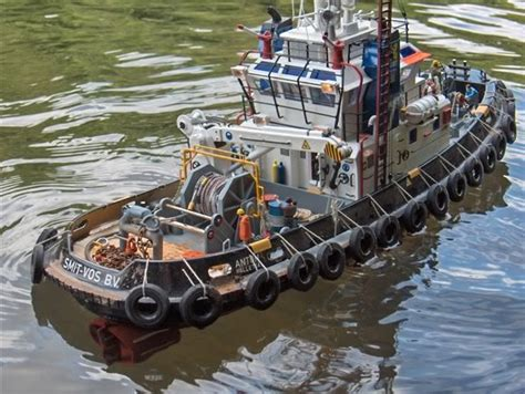 rc tug boat seaport tug very nicely done rc tugboat fever tug