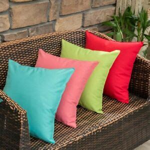 pc outdoor waterproof pillow cover square garden patio