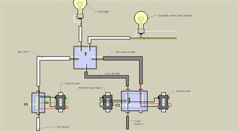 light wiring diagram two lights one switch free