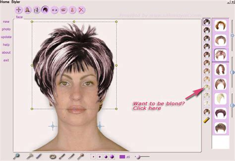 virtual hair color simulator brilliantly finding the most suitable hair styles and