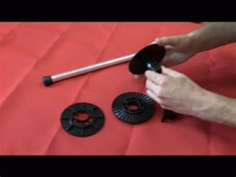how to make a boat cover support pole boat cover support poles how to assemble youtube