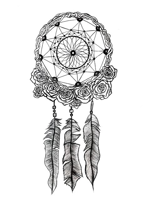 dreamcatcher tattoo black and white dreamcatcher dream catchers catcher and drawings