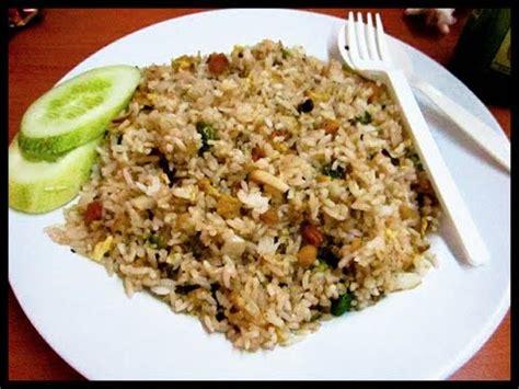 langkah2 membuat nasi uduk cara mudah membuat nasi goreng jawa youtube