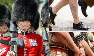 neck tattoo in the army british army lifts ban on hand and neck tattoos after