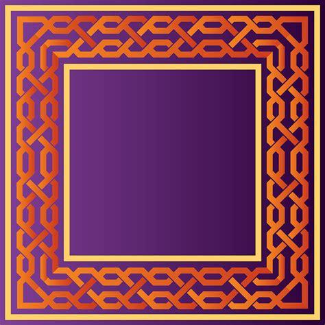 vector pattern set islamic border vector set download free vector art