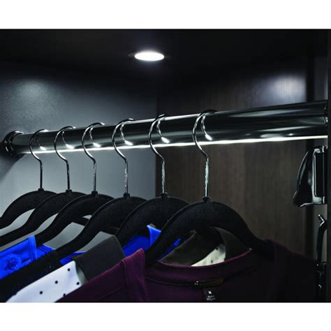 closet synergy elite quot wardrobe rail kit with loox