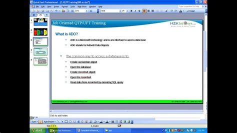 video tutorial for qtp for beginners hp qtp tutorial 2 hp uft tutorial 2 qtp uft database
