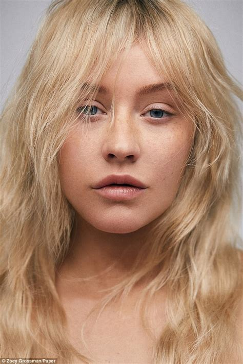 Aguilera Looks Like A High Class Without The Class aguilera is unrecognizable with no makeup on