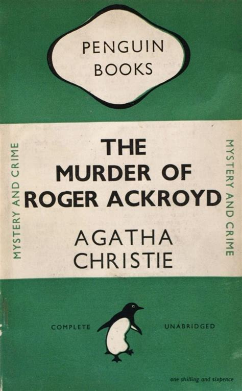 The Murder Of Roger Ackroyd Agatha Christie 1000 images about agatha christie on agatha christie hercule poirot and miss marple