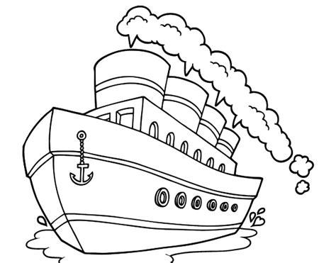 imagenes de barcos para dibujar faciles dibujo de transatl 225 ntico para colorear dibujos net