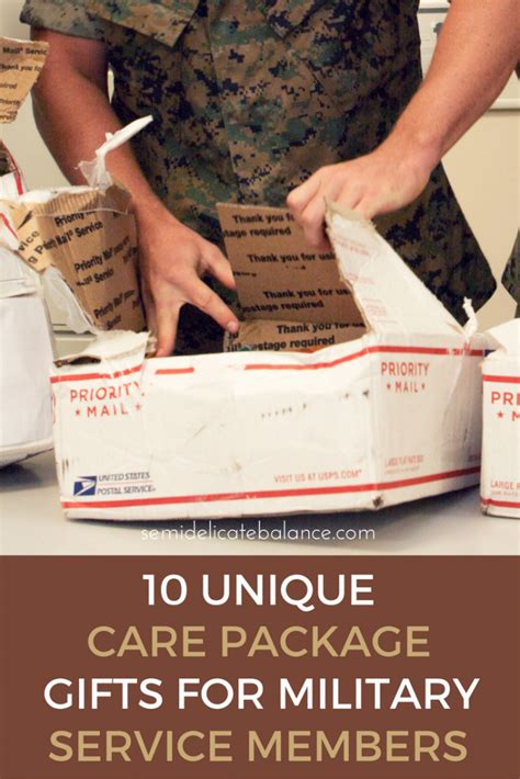 Gift Ideas For Soldiers - 10 unique care package gifts for service members