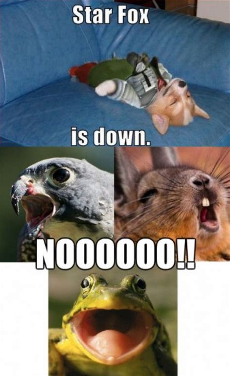 Star fox is down dorkly post