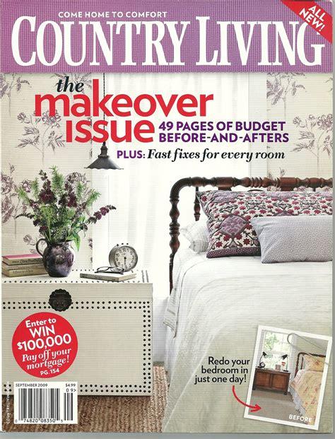 country living magazine september 2009 magazine back issues