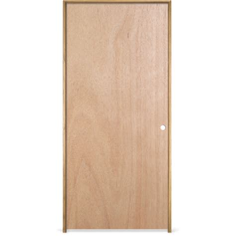 Shop Reliabilt Prehung Hollow Core Flush Lauan Interior 28 X 78 Interior Door