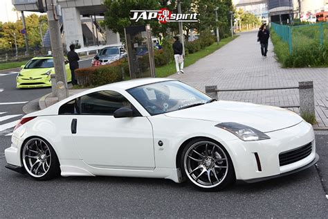 nissan fairlady 2016 stancenation 2016 nissan fairlady z33 hellaflush white