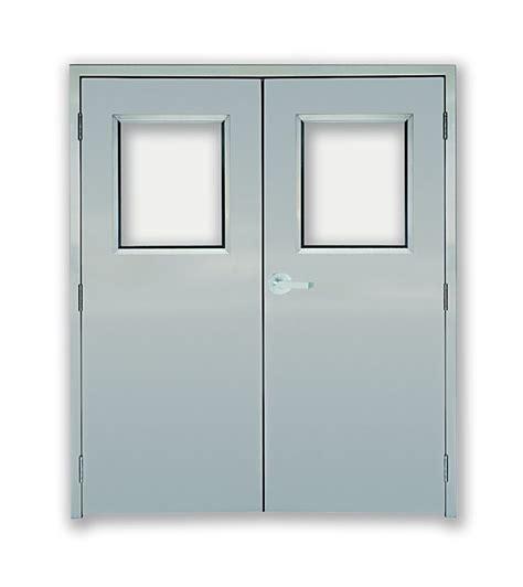 double swing fire doors puerta doble laboratorio sanitaria cuben s a